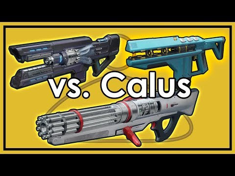 Destiny 2: Coldheart vs. Sweet Business vs. Merciless & More - Calus Damage Comparison