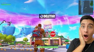 Hacker manages to delete the greasy grove of the Fortnite...