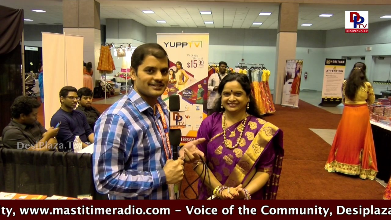 Sudha Kalvagunta speaking to Desiplaza TV at  TANA Conference - 2017 - St Louis