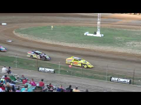 8 4 18 Modified Heat #1 Lincoln Park Speedway