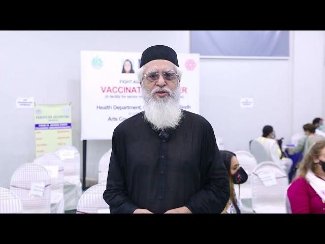 Bedil Masroor | Covid-19 Vaccination Center | Arts Council Karachi #acpkhi #artscouncil #covid_19