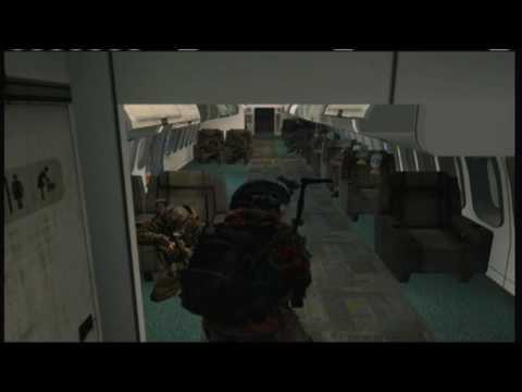 Horror Flight To Afghan | MW2 | o ChickenMan o
