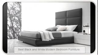 Best Black And White Modern Bedroom Furniture