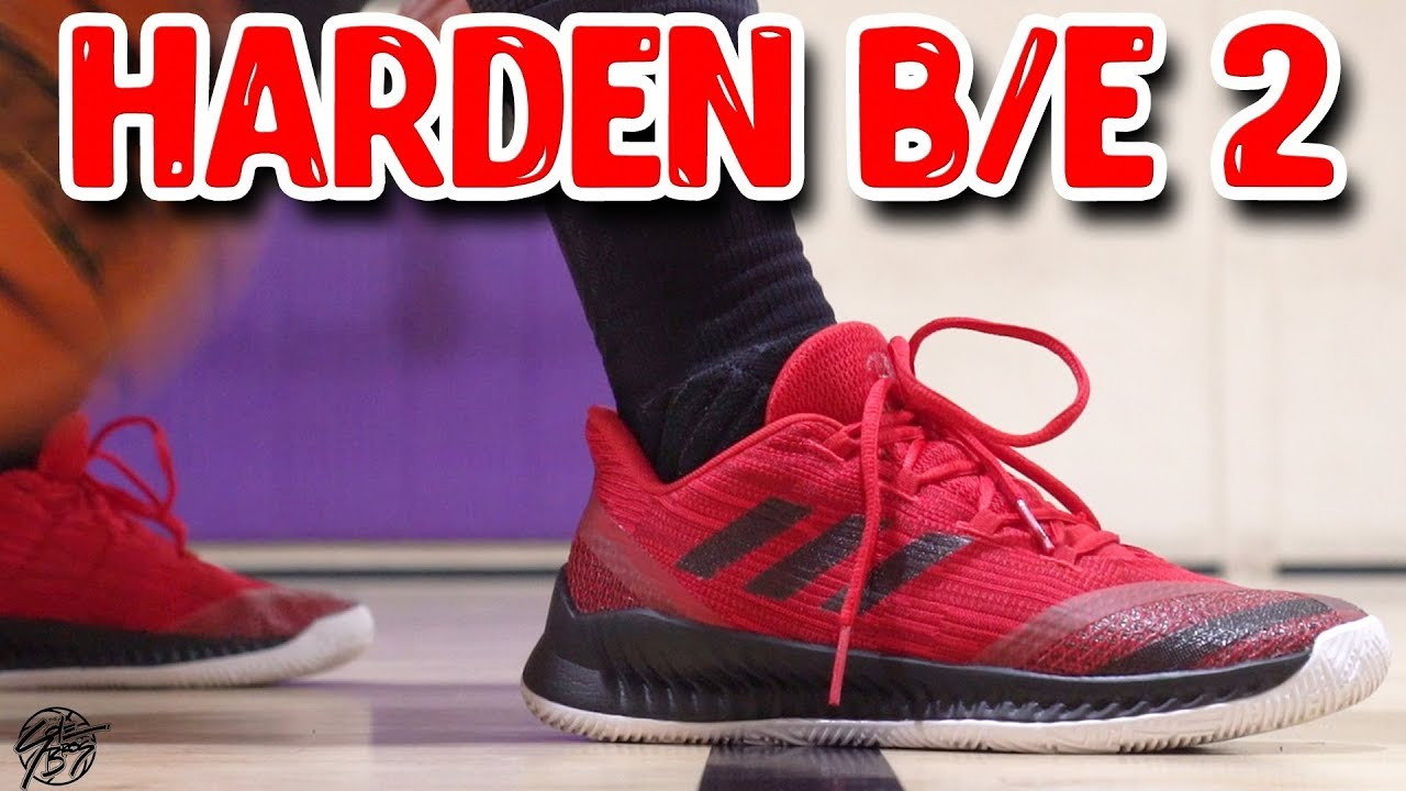 new style f4a67 48274 Adidas Harden BE 2 Performance Review!