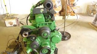 Fully Rebuilt John Deere 4045-T Engine