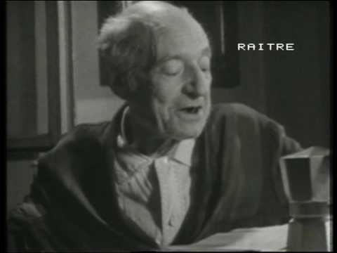 UMBERTO SABA legge sue poesie dedicate alla Triestina - 1954