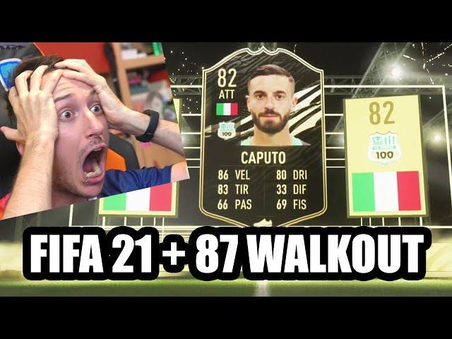 FIFA 21 PRIMO SPACCHETTAMENTO PRIME SCULATE! IF, WALKOUT E TOP PLAYER!!