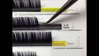 наращивание ресниц 2d / 3d / 4d Eyelashes , формирование пучков