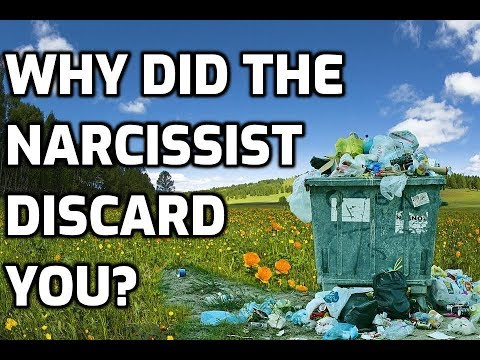 Why Did The Narcissist Discard You?