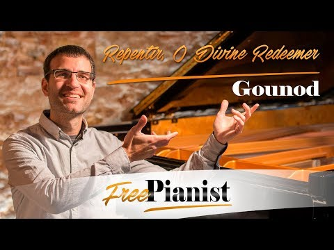 Repentir, O Divine Redeemer - KARAOKE / PIANO ACCOMPANIMENT - Gounod