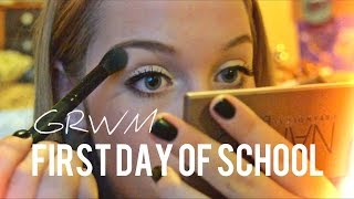 GRWM: FIRST DAY OF SCHOOL: Junior Year