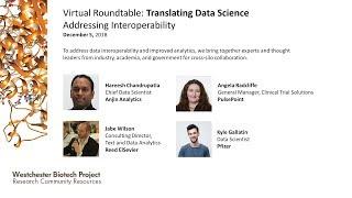 Translating Data Science, Addressing Interoperability