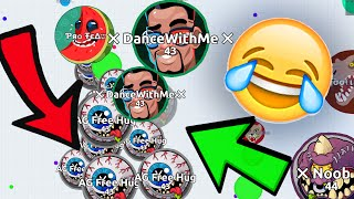 FUNNIEST AGARIO BAIT EVER // Agar.io