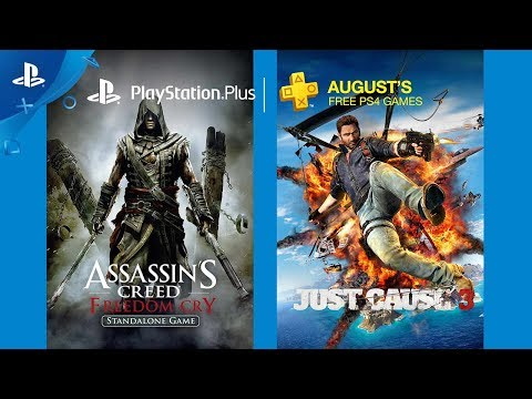 PlayStation Plus - Free PS4 Games Lineup August 2017