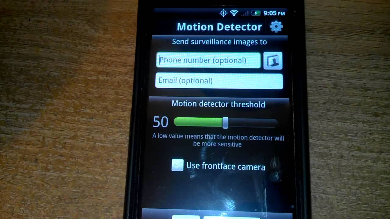 Image result for cell phone motion sensor