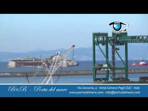 Costa Concordia - Port of Genova - Italy - The film