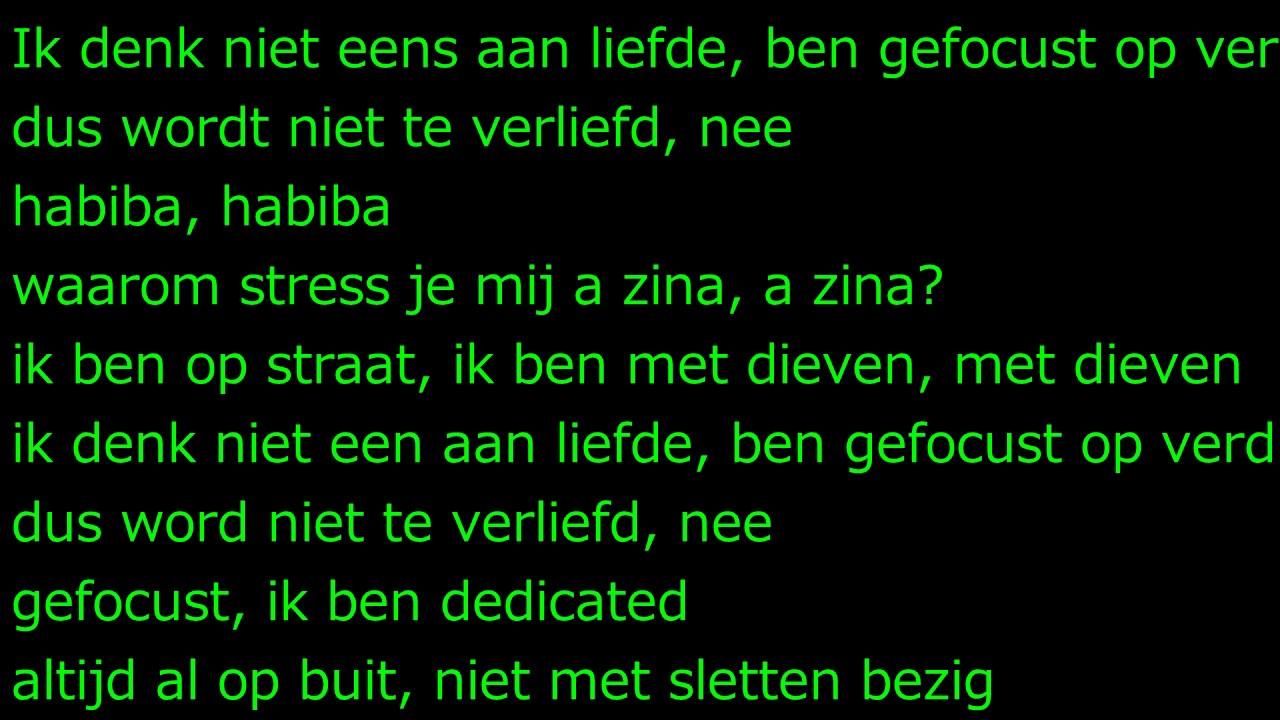 BOEF - HABIBA {LYRICS} - YouTube