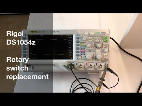 Rigol Rotary Switch replacement