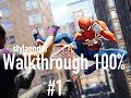 Spider-Man PS4 - Walkthrough Gameplay #1: The beginning - No Commentary!