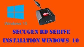 SECUGEN RD SERVICE INSTALLTION SECUGEN RD SERVICE KAISE INSTALL KARE screenshot 2