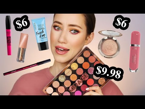 I Tried Some New Drugstore Makeup 😱