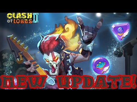 Clash Of Lords 2 New Update- Jewels Jam And Arcane Academic