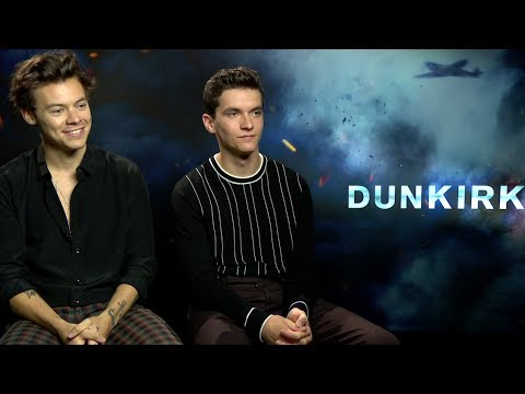 "Harry Styles says he felt ""very emotional"" watching Dunkirk"
