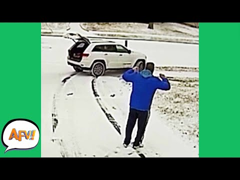 Watching the FAIL Slide AWAY! 😅 | Funny Fails | AFV 2020