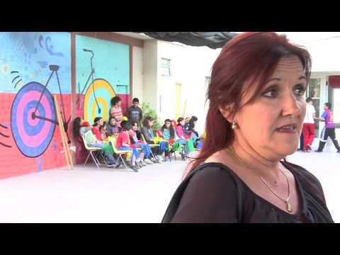 Visita de alumnos de la Escuela Artigas de Asunción, Paraguay