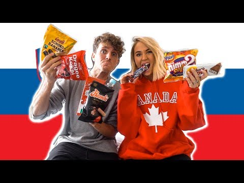 Australians Try Slovenian Candy