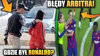 Gdzie BYŁ Cristiano Ronaldo przed meczem z Interem? FC Barcelona wygrywa sędzia i dziwne decyzje!!