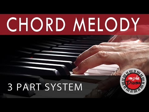 How to Play Piano Chord Melody. Piano Chord Progressions.