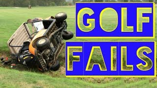 Golf Fails | Funny Fails Compilation