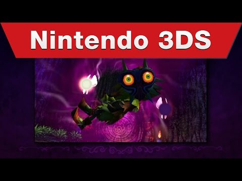 Nintendo 3DS - The Legend of Zelda: Majora's Mask 3D - Announcement Trailer