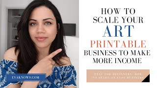 ADDITIONAL Ways To Make Money From Your Art Printable Business!