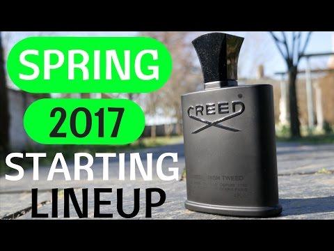 Spring Fragrance Starting Lineup 2017  |  Tripleinc.