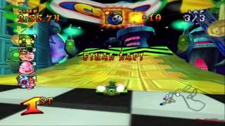CNK: Crash Nitro Kart - Electron Avenue [PCSX2[