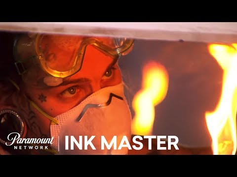 Flash Challenge Preview: Up In Smoke: Part II - Ink Master, Season 6