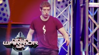It's Round Two for Teige!   Ninja Warrior UK