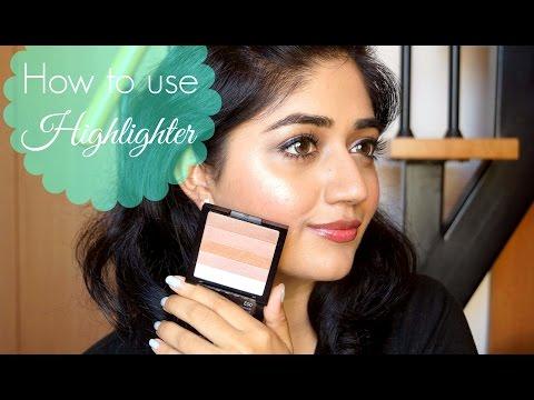 Highlighter Makeup Tutorial for Beginners | corallista
