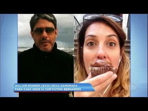 Hora da Venenosa: Bonner leva nova namorada para casa onde ia com Fátima Bernardes
