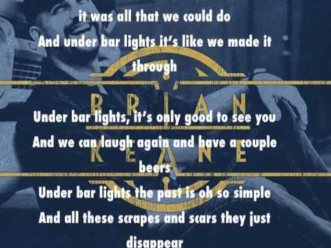 Bar Lights Lyric Video