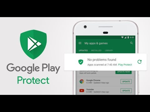 How to enable google malware scanner in android