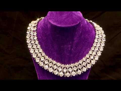 Parify | Innovative and Bespoke Lighting for Jewellery Displays | Diamond Sparkle Example