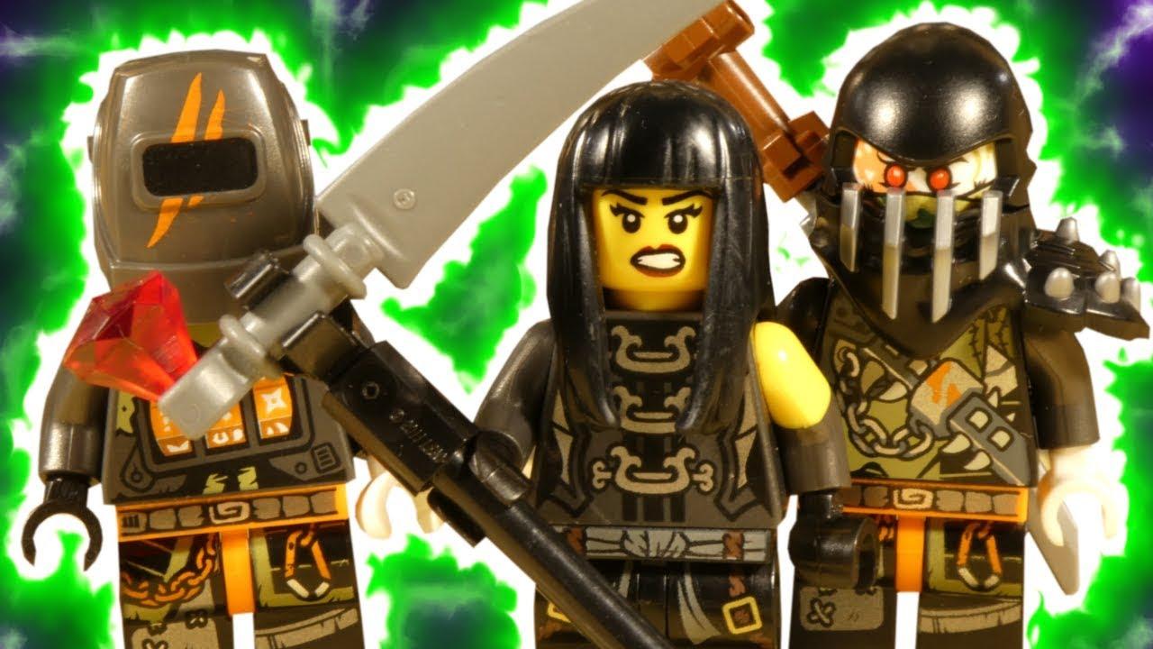 LEGO NINJAGO HUNTED - HIROKO V'S DRAGON HUNTERS