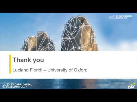 EY Capri 2017 - Luciano Floridi, Professor of Philosophy & Ethics, Oxford University