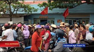 Dân Bình Thuận đòi công lý cho người biểu tình (VOA)