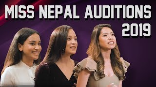 | Journey to Miss Nepal 2019 | Episode 1 | Kathmandu Audition |