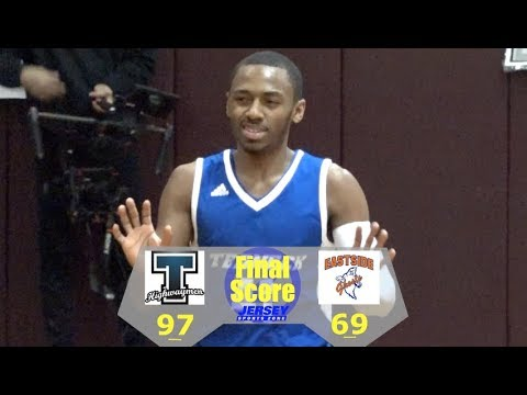 Teaneck - 97 Paterson Eastside - 69 | Boys Basketball | Ja'Quaye James 34 Points | JellyFam