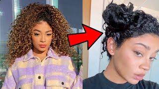 Dyeing My Hair Back BLACK! Hair Transformation Part 1 | jasmeannnn
